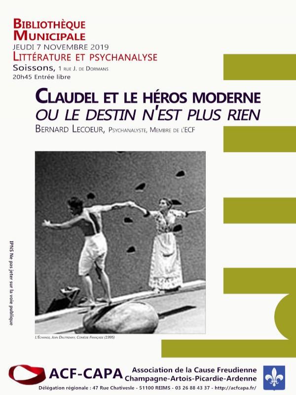 Claudel et le héros moderne