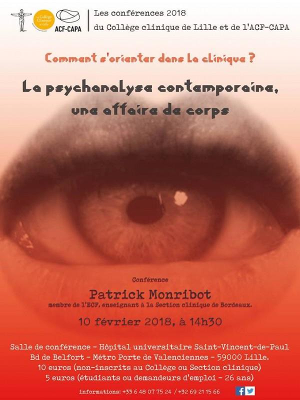 La psychanalyse contemporaine, une affaire de corps.