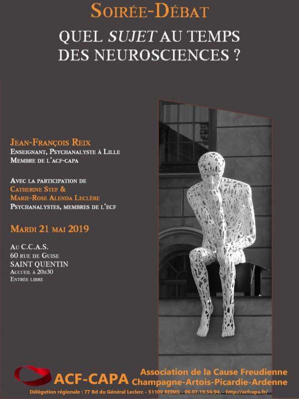 Quel sujet au temps des neurosciences ?
